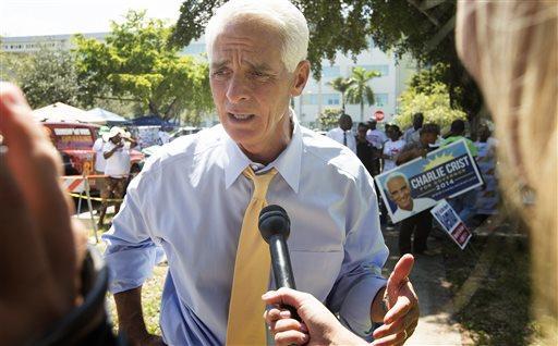 Former Republican Gov. Charlie Crist