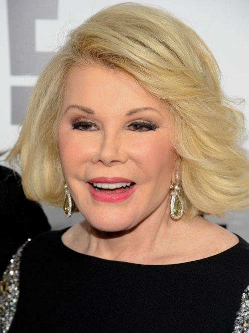 In this April 30, 2012 file photo, Joan Rivers attends an E! Network event in New York