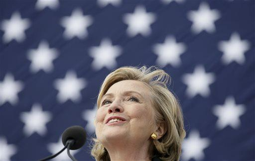 Former Sec. of State Hillary Rodham Clinton