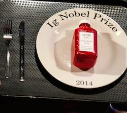 The 2014 Ig Nobel prize, the annual award for sometimes inane, yet often surprisingly practical, scientific discoveries.