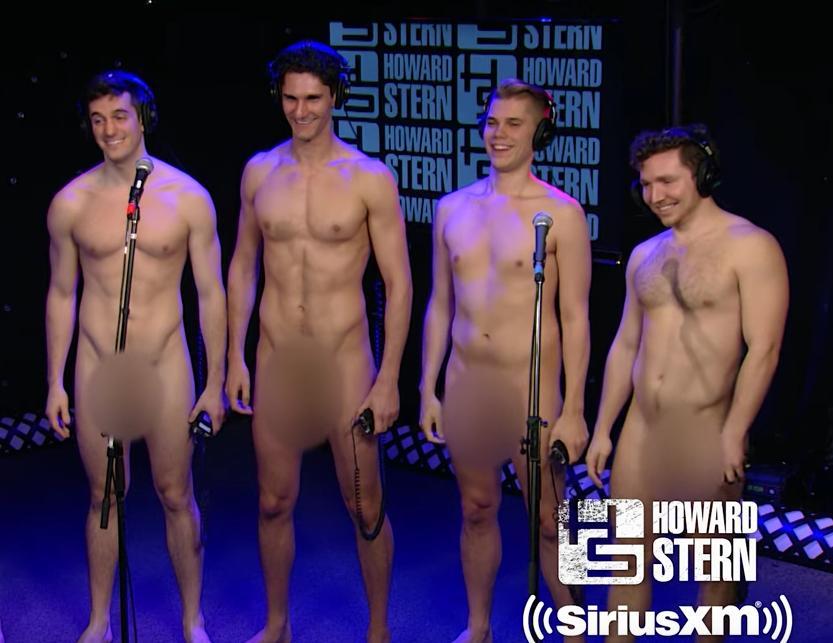 Naked shower guys-5952