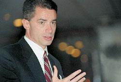 """Former New Jersey governor and """"gay American"""" James McGreevey is one formerly closeted politician featured in Outrage."""