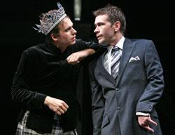 Patrick J. Adams and Connor Trinneer star in Equivocation, playing through Dec. 20 at Geffen Playhouse