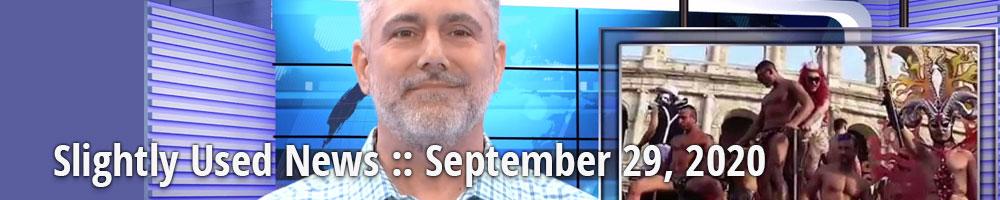 Slightly Used News :: September 29, 2020