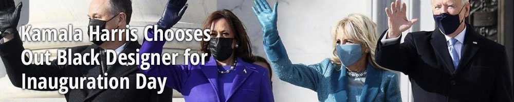 Kamala Harris Chooses Out Black Designer for Inauguration Day