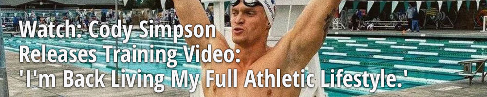 Watch: Cody Simpson Releases Training Video: 'I'm Back Living My Full Athletic Lifestyle.'