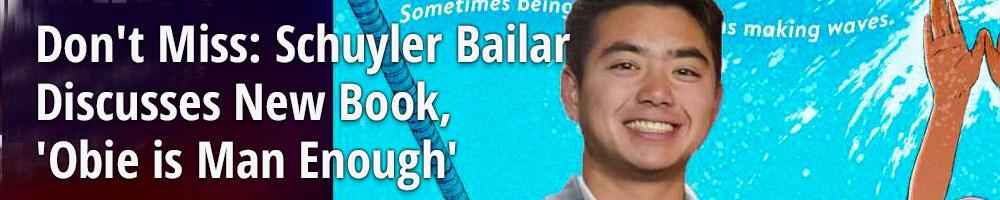 Don't Miss: Schuyler Bailar Discusses New Book, 'Obie is Man Enough'