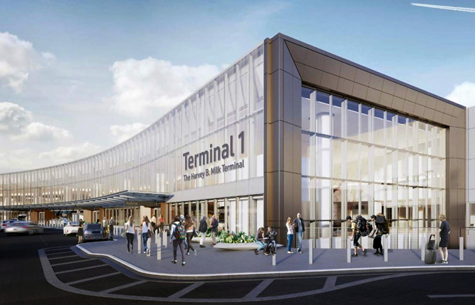 SFO Milk terminal signage flies into font fight