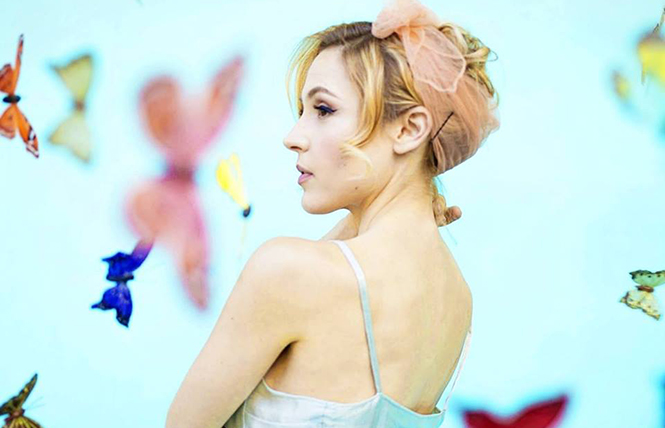 Samantha Sidley likes girls: Pop/Jazz singer at the Rickshaw Stop