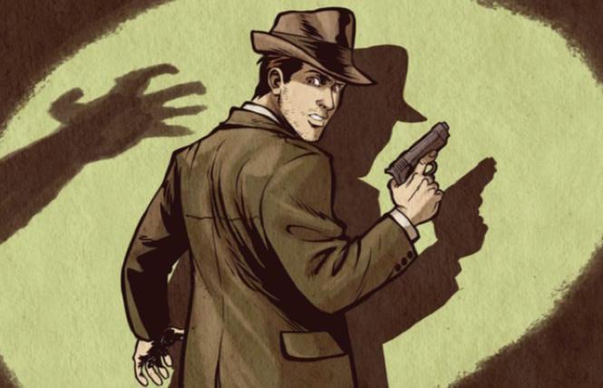 Dash-ing fun: gay noir comic released