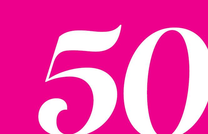 Bay Area Reporter announces its historic 50th anniversary edition
