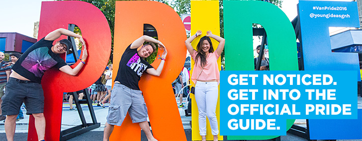 Book NOW for 2017 Pride Guide