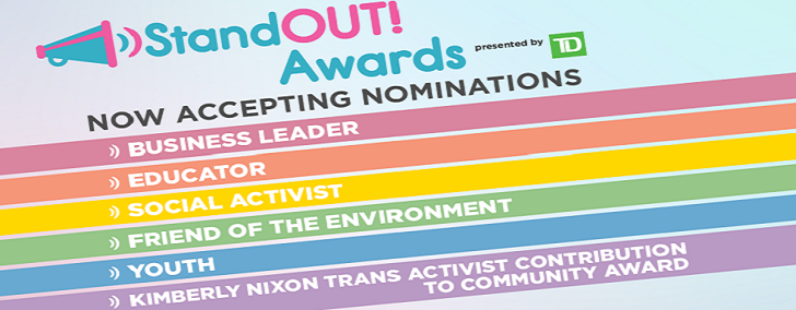 Nominations Open for StandOUT