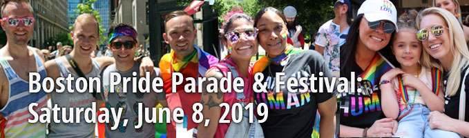 Boston Pride Parade & Festival :: June 8, 2019