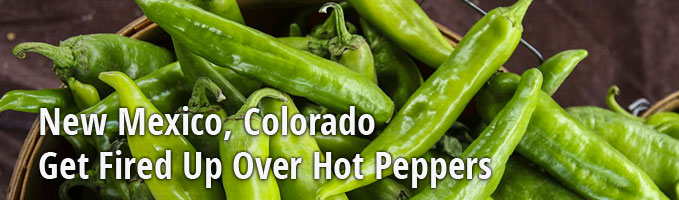 New Mexico, Colorado Get Fired Up Over Hot Peppers
