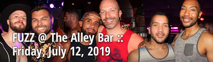 FUZZ @ The Alley Bar :: Friday, July 12, 2019
