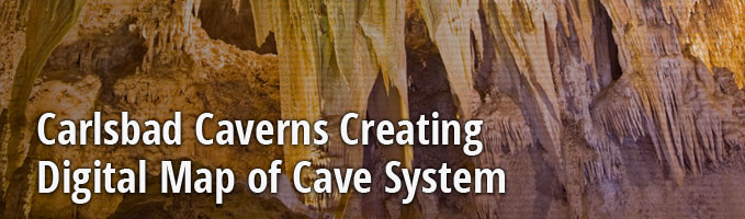 Carlsbad Caverns Creating Digital Map of Cave System