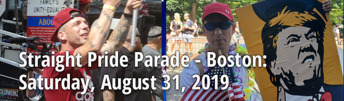 Boston Straight Pride Parade :: August 31, 2019