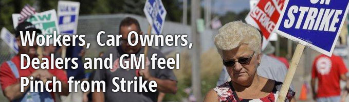 Workers, Car Owners, Dealers and GM feel Pinch from Strike