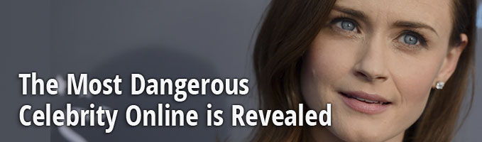 The Most Dangerous Celebrity Online is Revealed