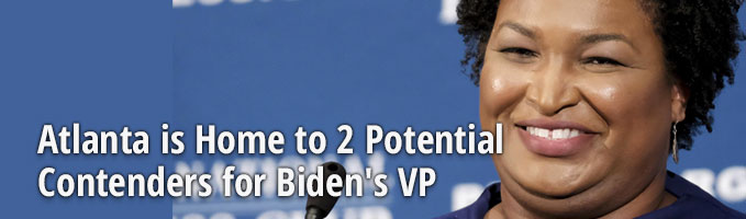 Atlanta is Home to 2 Potential Contenders for Biden's VP