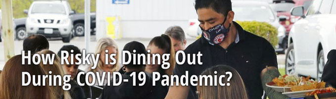 How Risky is Dining Out During COVID-19 Pandemic?