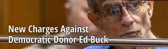 New Charges Against Democratic Donor Ed Buck