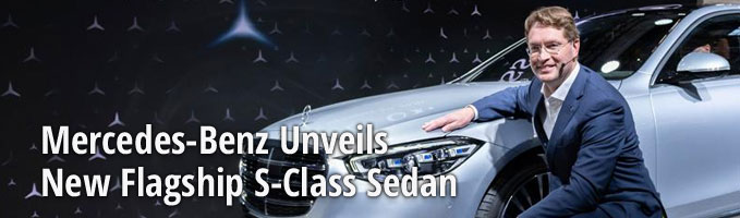Mercedes-Benz Unveils New Flagship S-Class Sedan
