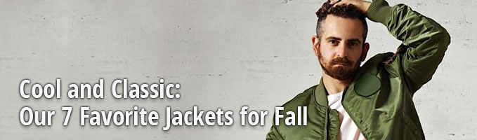 Cool and Classic: Our 7 Favorite Jackets for Fall