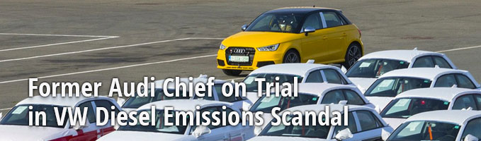 Former Audi Chief on Trial in VW Diesel Emissions Scandal