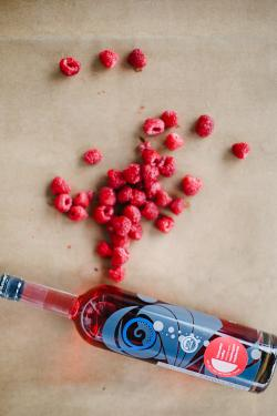 Bluewater Organic Raspberry-Infused Vodka