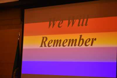 Astro's keynote speech at Transgender Day of Remembrance commemoration in Seattle Nov. 20