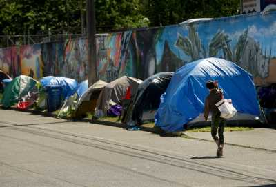Tent encampments are here to stay unless...