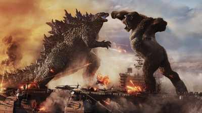 Colorful Godzilla vs. Kong a monstrous success