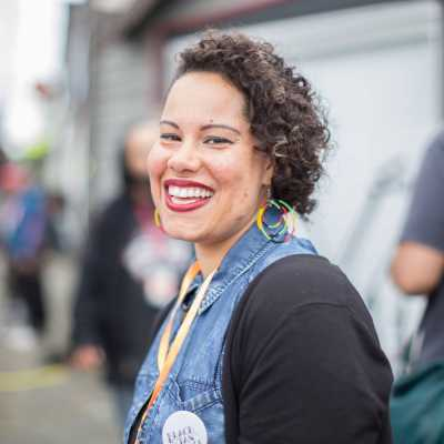 Nikkita Oliver speaks about running for a citywide Seattle City Council position