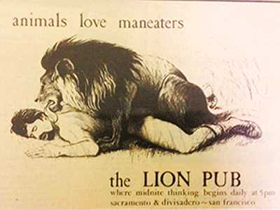 BARchive :: The Lion Pub and Other Lost Gay Dens
