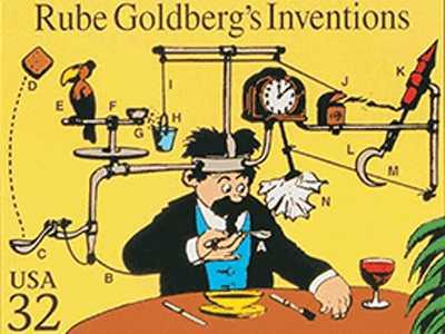 Patented Rube Goldberg