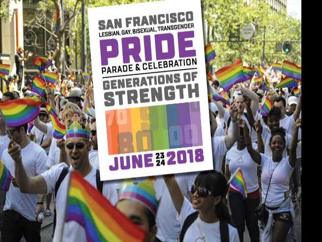 Inside Pride, the official magazine of San Francisco Pride 2018