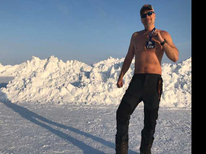 Jock Talk: Marathoner conquers the North Pole