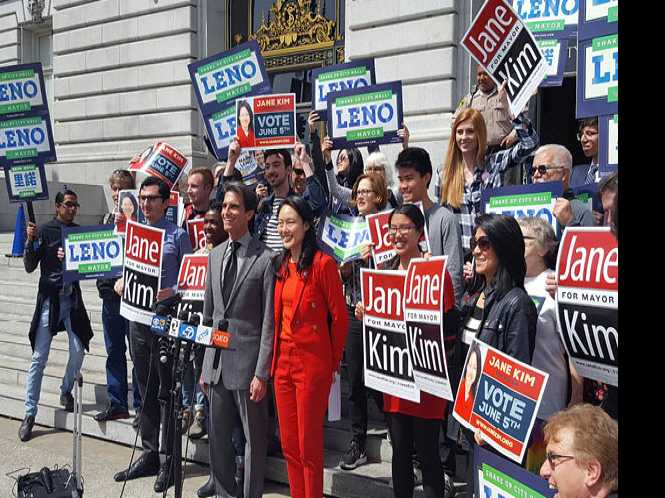 Leno, Kim join forces in SF mayor's race; Breed casts ballot