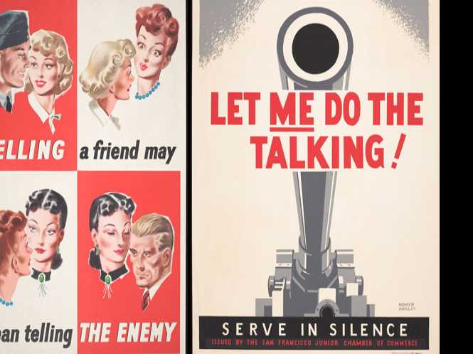 Propaganda ministries in the museum