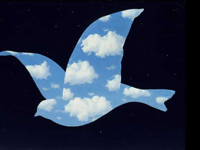 Rene Magritte, to infinity & beyond