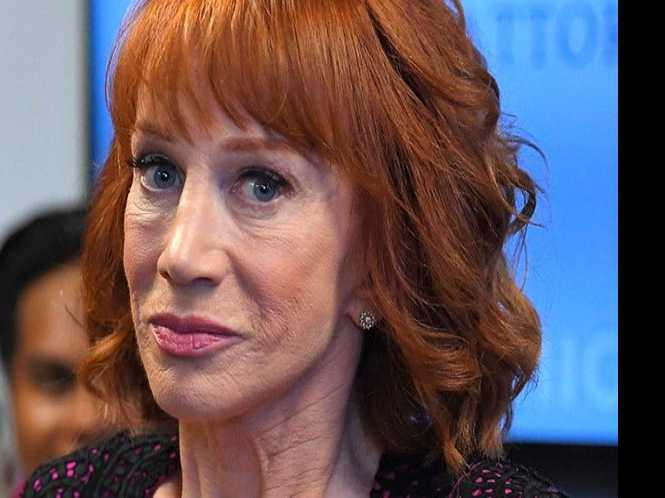 Kathy Griffin, back from the backlash