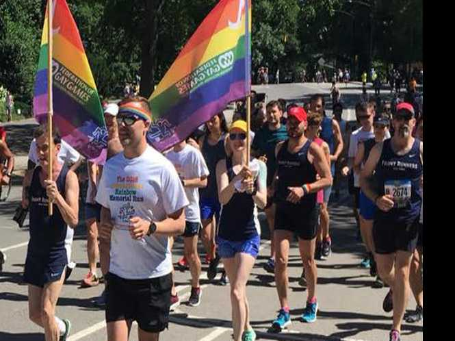 Run promotes Gay Games