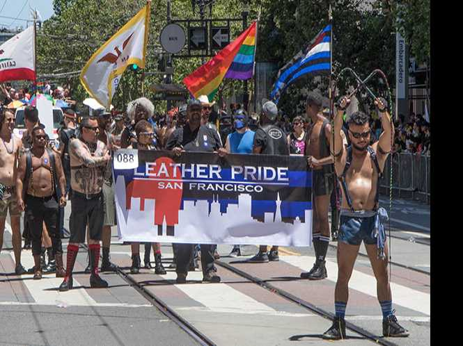 Leather Resistance:  Kink communities & political activism