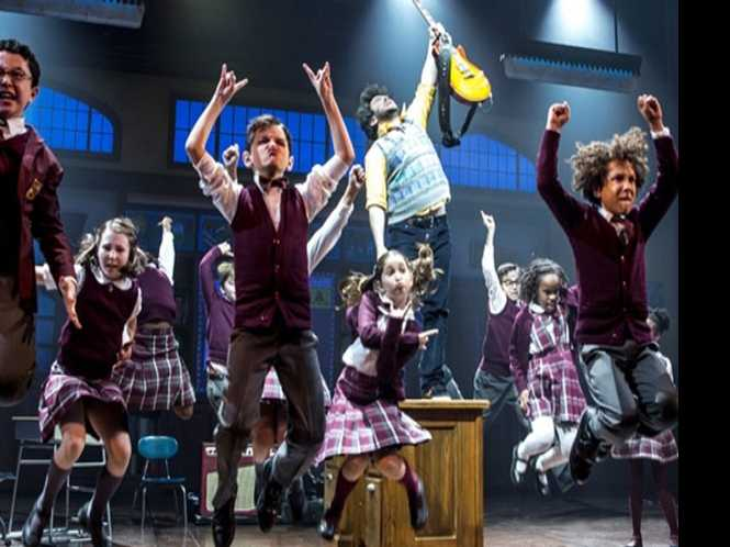 Rockin' & 'raising: School of Rock cast, David Hernandez at REAF songfest
