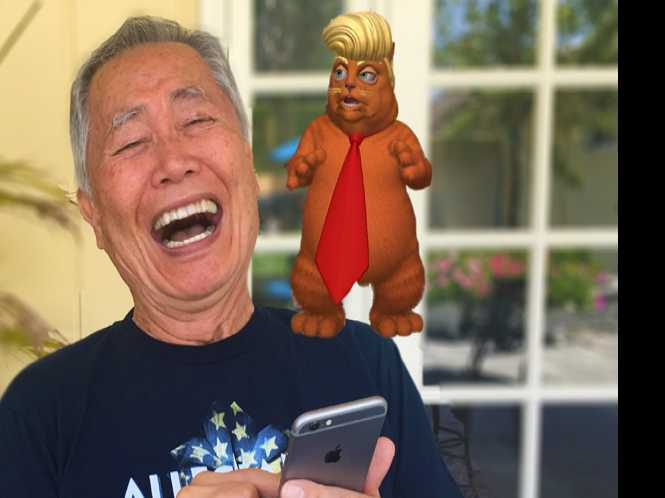 Takei launches funny new political app