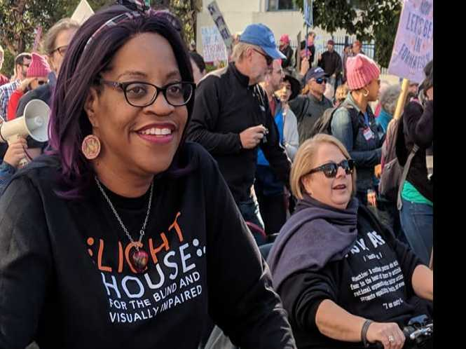 Seeing in the Dark: Oakland march makes stance for disability rights
