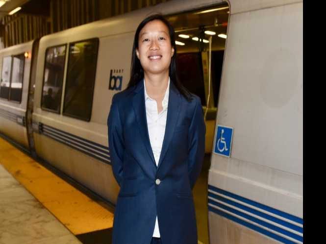 Queer woman enters crowded BART board race