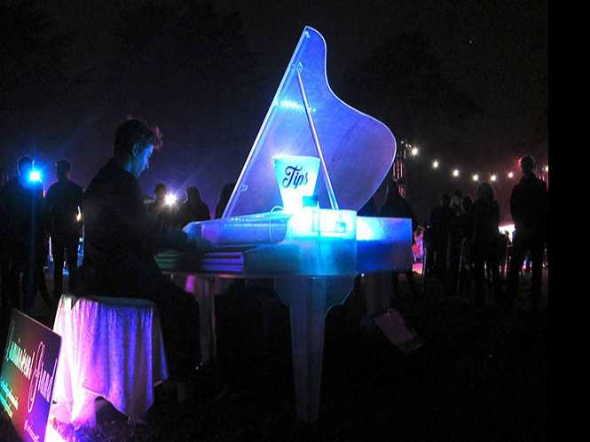 NightGarden Piano @ SF Botanical Garden